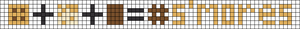 Alpha pattern #104375