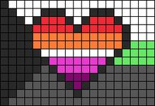 Alpha pattern #104381