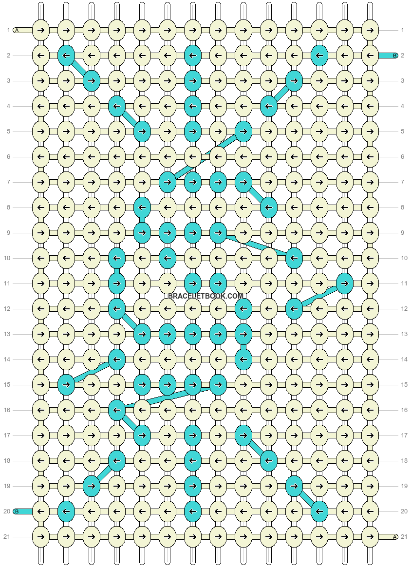 Alpha pattern #104428 pattern