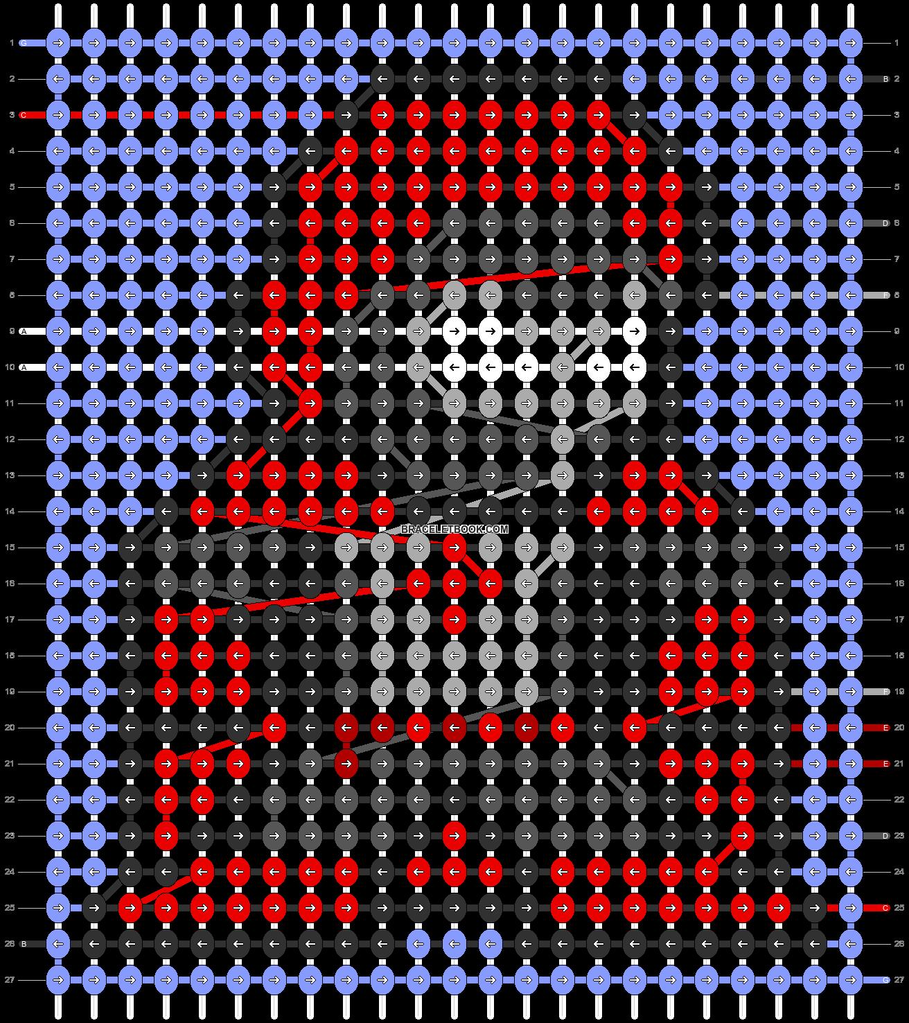 Alpha pattern #104564 pattern