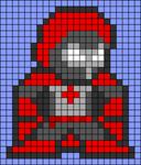 Alpha pattern #104564