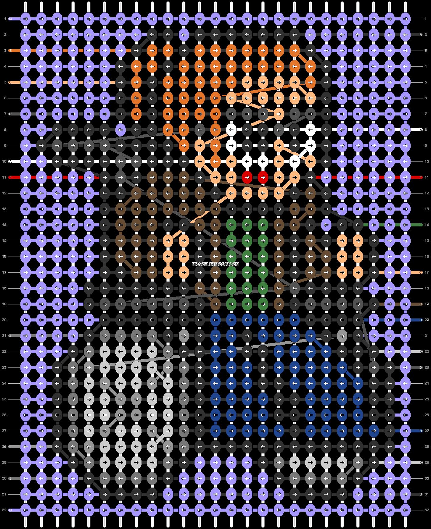 Alpha pattern #104575 pattern