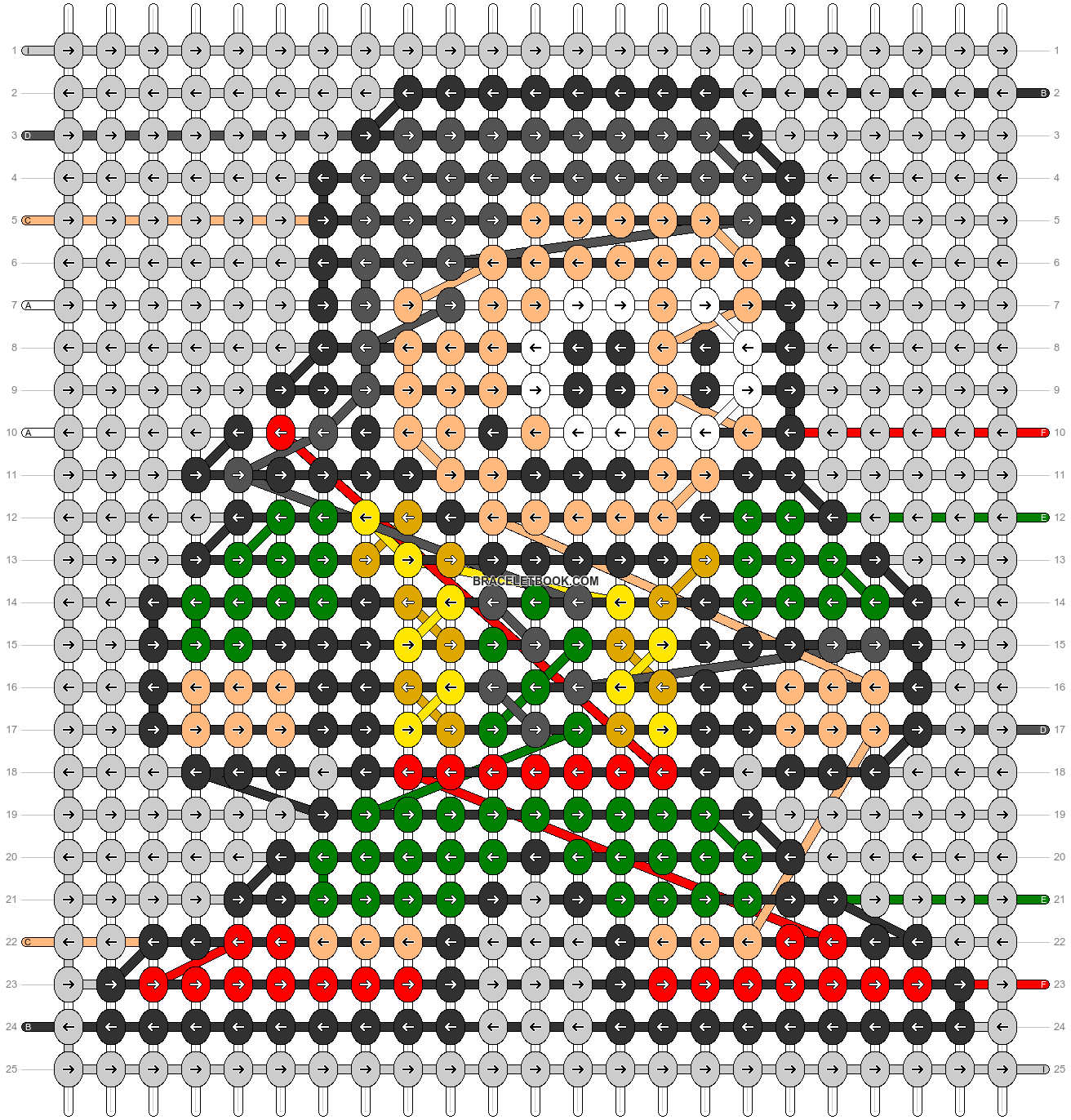 Alpha pattern #104623 pattern
