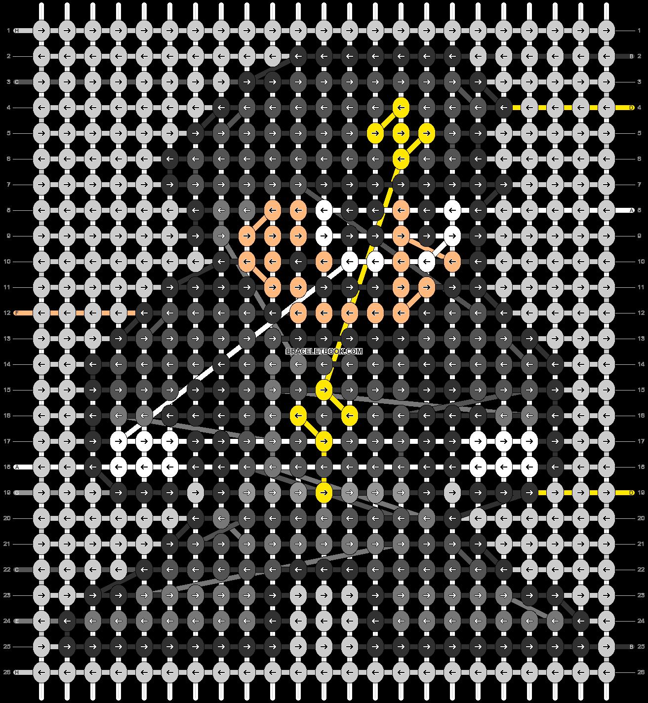Alpha pattern #104629 pattern
