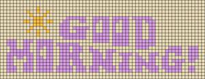 Alpha pattern #104723