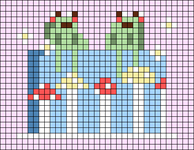 Alpha pattern #104745