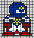 Alpha pattern #104765