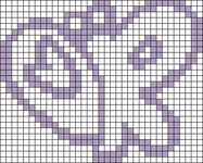 Alpha pattern #104815