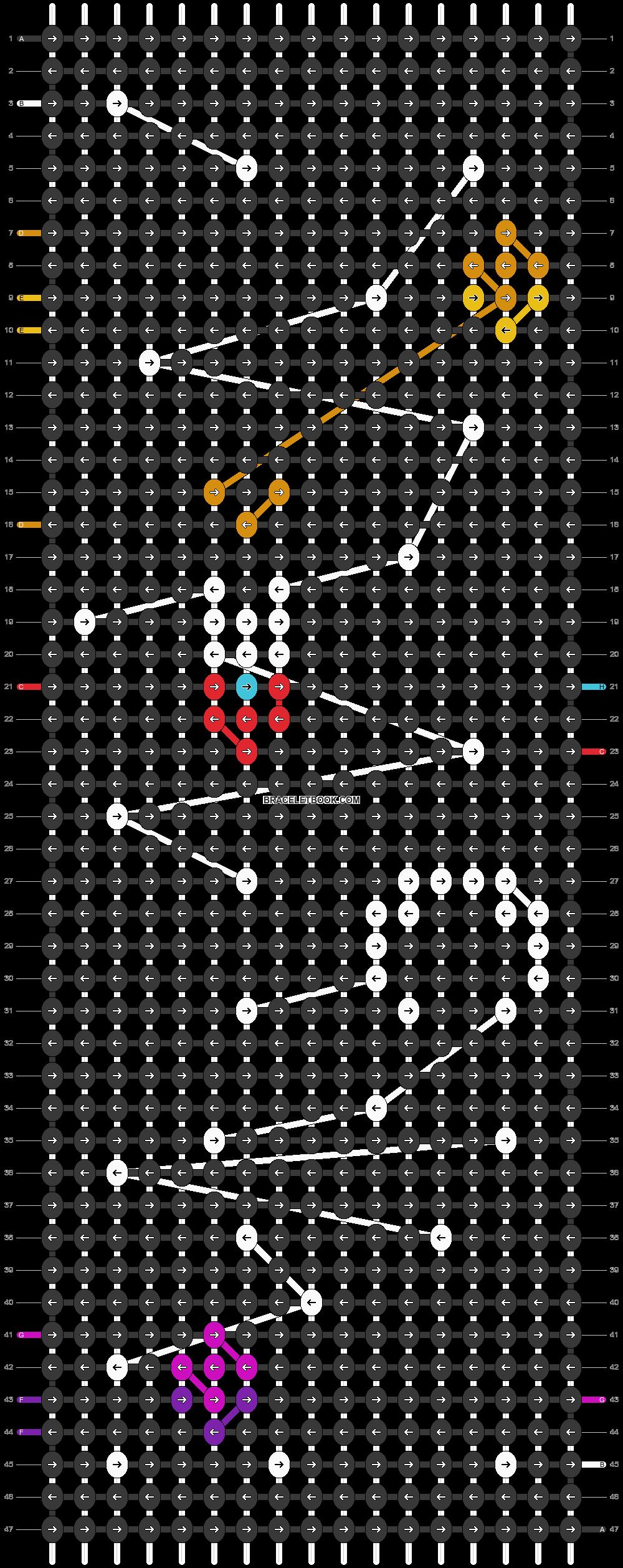 Alpha pattern #104832 pattern