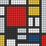 Alpha pattern #104835