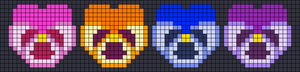 Alpha pattern #104838