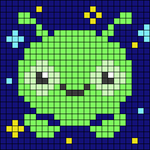 Alpha pattern #104878