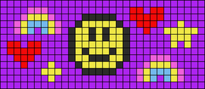 Alpha pattern #104916