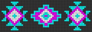 Alpha pattern #104978