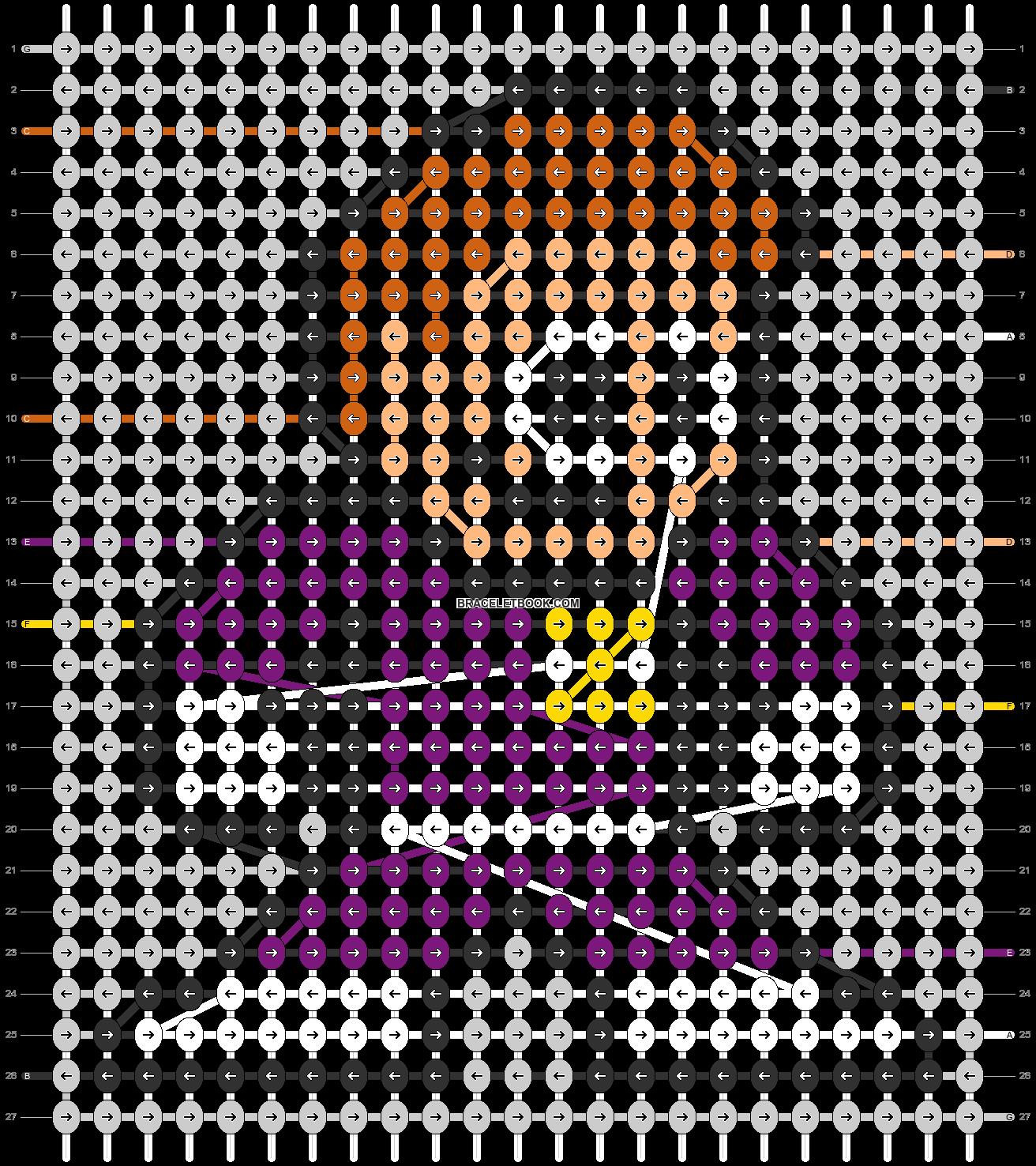 Alpha pattern #104990 pattern
