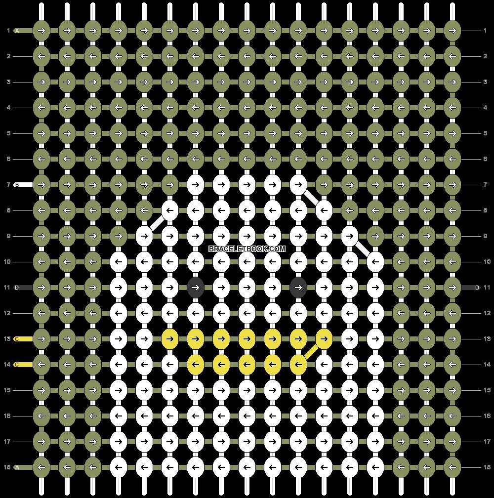 Alpha pattern #104994 pattern