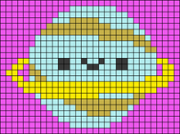 Alpha pattern #104998