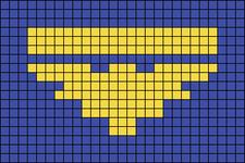 Alpha pattern #105055