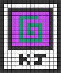 Alpha pattern #105080