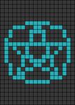 Alpha pattern #105082