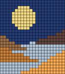Alpha pattern #105126
