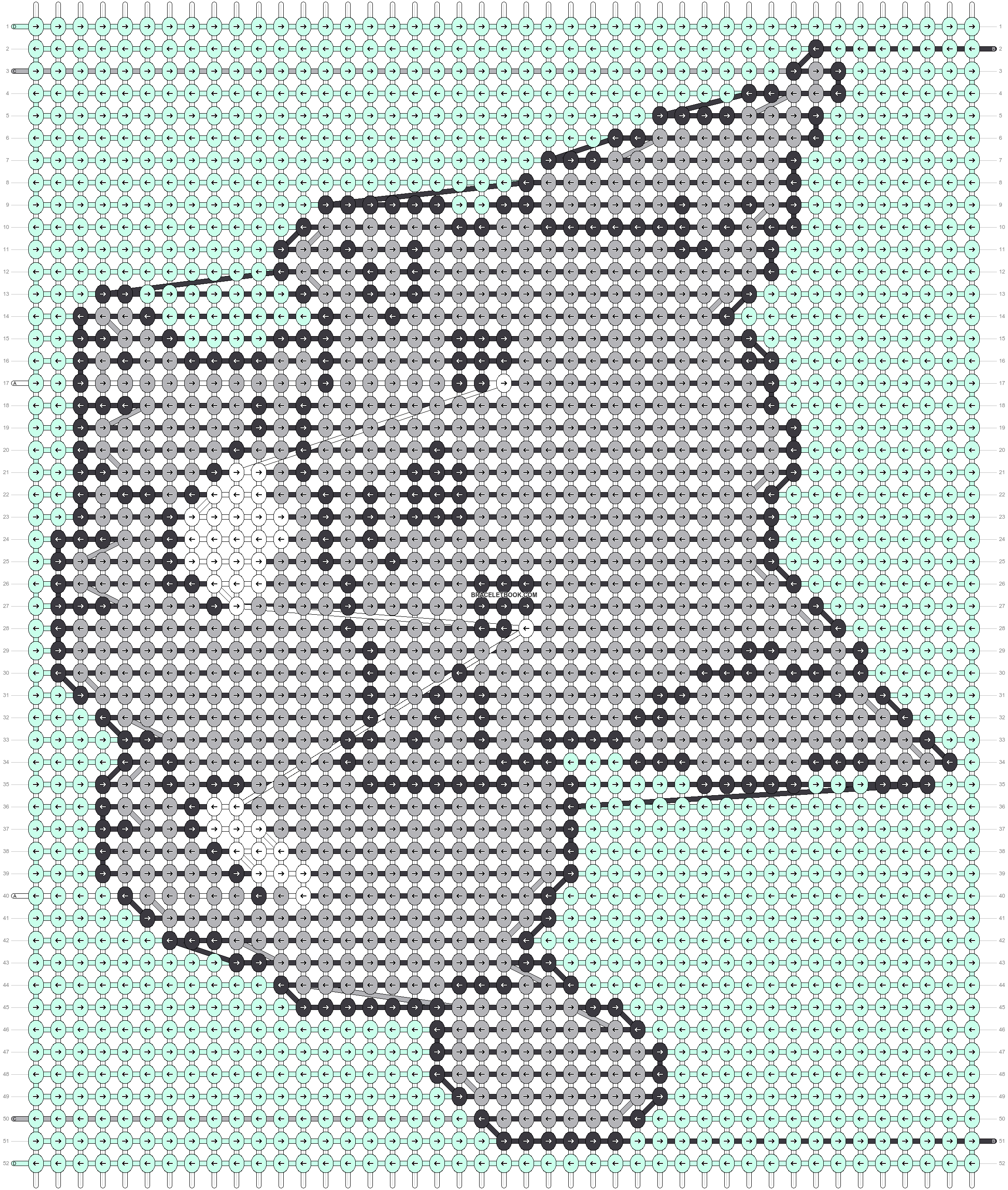 Alpha pattern #105140 pattern