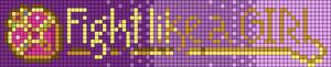 Alpha pattern #105165