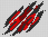 Alpha pattern #105186