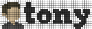Alpha pattern #105256