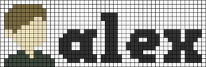 Alpha pattern #105258