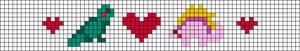 Alpha pattern #105280