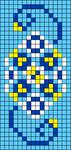 Alpha pattern #105375