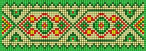 Alpha pattern #105448