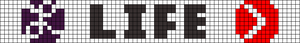 Alpha pattern #105590