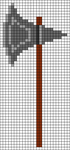 Alpha pattern #105698