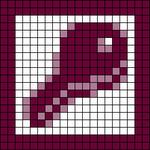Alpha pattern #105781