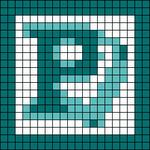 Alpha pattern #105782