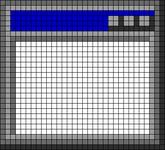 Alpha pattern #105786