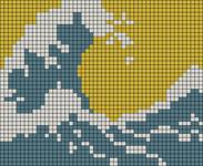 Alpha pattern #105815