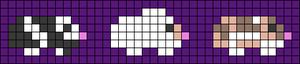 Alpha pattern #105897