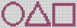 Alpha pattern #105938