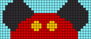 Alpha pattern #105961