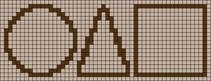 Alpha pattern #105987