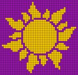 Alpha pattern #105990