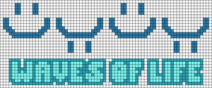 Alpha pattern #106135