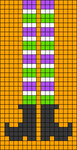 Alpha pattern #106315