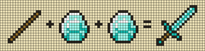 Alpha pattern #106366
