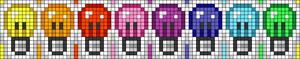 Alpha pattern #106369