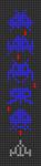 Alpha pattern #106489