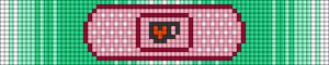 Alpha pattern #106495